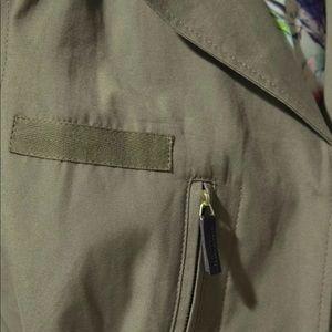 Zara Jackets & Coats - ZARA Safari Military Jacket w/ 100% Leather Sleeve